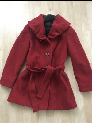 Damo Veste en laine rouge
