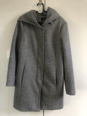 Only Manteau à capuche gris clair