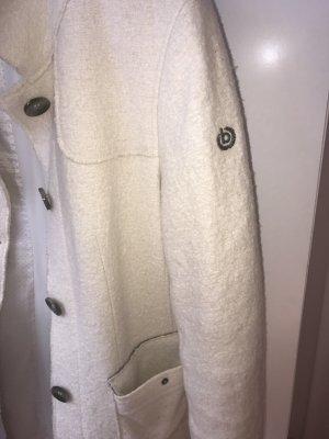 Bugatti Cappotto mezza stagione bianco sporco Cotone