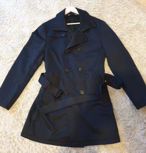 Zara Cappotto corto blu scuro
