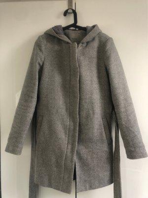Vero Moda Cappotto con cappuccio grigio chiaro