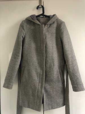 Vero Moda Manteau à capuche gris clair