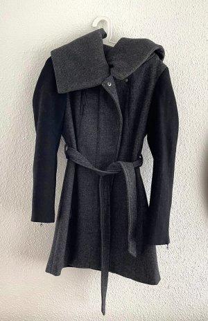 Promod Cappotto invernale grigio scuro-nero