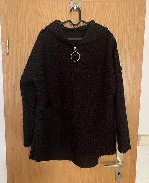 Zauberstern Short Coat black
