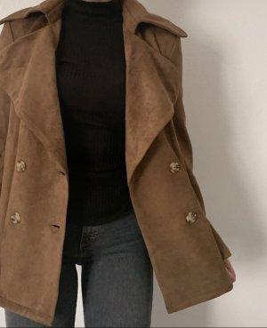 Leather Blazer multicolored