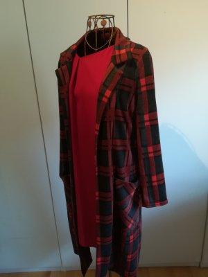 Manteau en tricot multicolore polyester