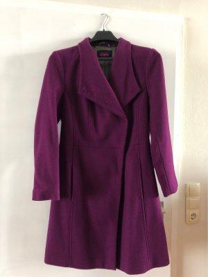 Buffalo Manteau en laine violet