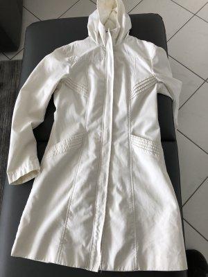 H&M Divided Cappotto con cappuccio crema