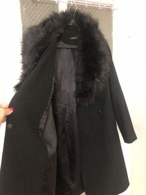 Kein Marynarski płaszcz czarny