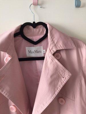 'S MaxMara Trench rosa chiaro