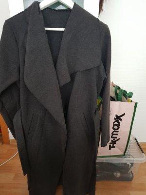 Floor-Lenght Coat dark grey
