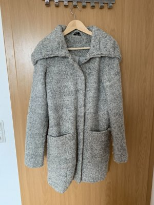 Review Hooded Coat light grey