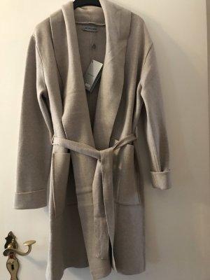 Manteau d'hiver beige clair