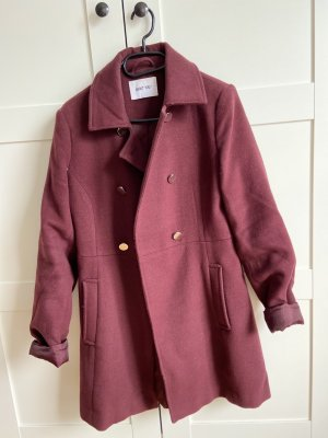 About You Winter Coat dark red