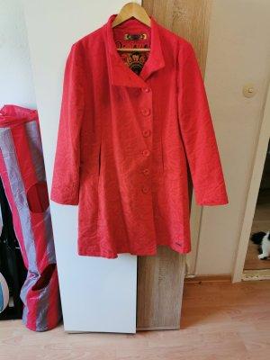 desingual Long Jacket red