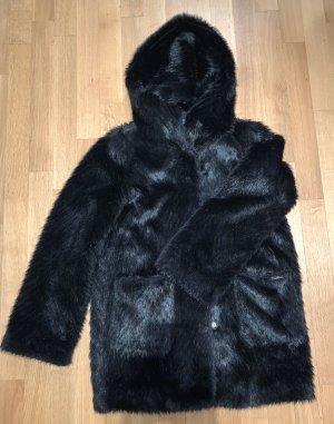 Liu jo Manteau à capuche noir polyester