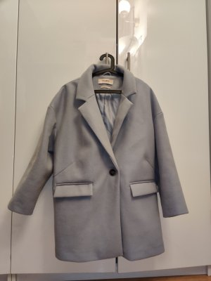 Pull & Bear Oversized Coat azure
