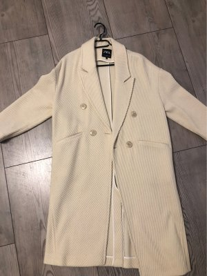 Zara Oversized Coat natural white