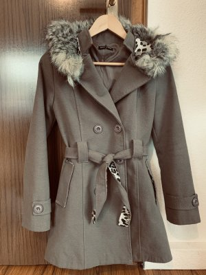 Hooded Coat grey