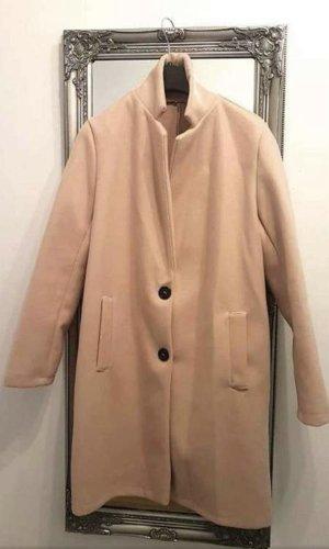 Cappotto stile pilota color oro rosa