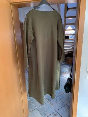 Oversized jas khaki