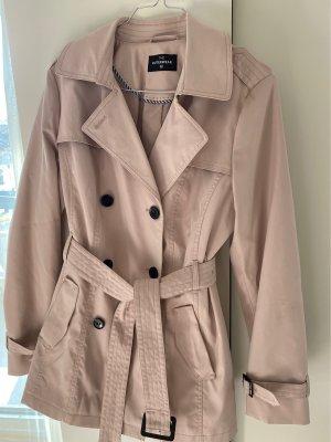 H&M Basic Heavy Pea Coat pink