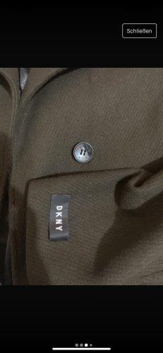 DKNY Abrigo de piloto verde oscuro