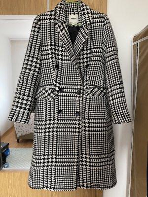 Koton Heavy Pea Coat black