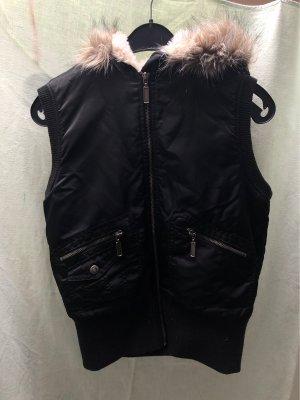 Madonna Manteau à capuche noir