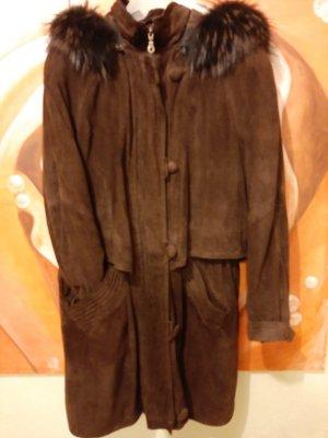 0039 Italy Veste d'hiver brun foncé