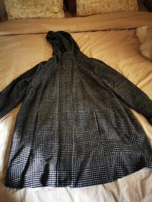 Janina Pea Jacket white-black
