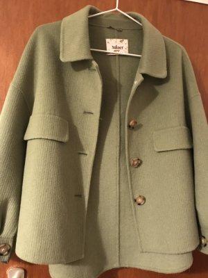 Marynarski płaszcz zielony