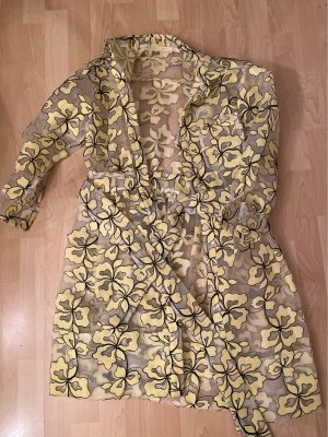 Maje Short Coat primrose-black