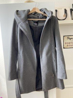 Even & Odd Hooded Coat grey