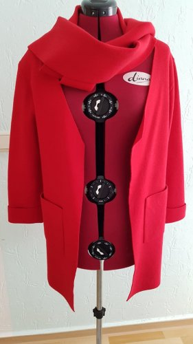 Robe manteau rouge