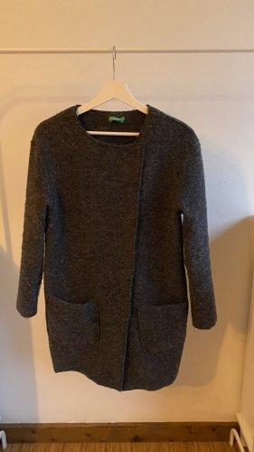 Benetton Wool Coat multicolored