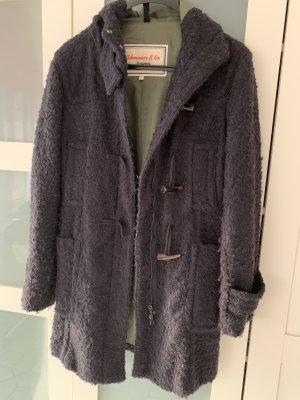 Adenauer & Co Wool Coat black cotton