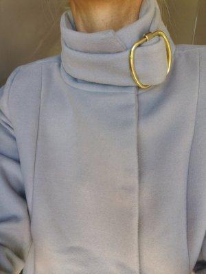 MNG Abrigo de invierno color oro-gris claro
