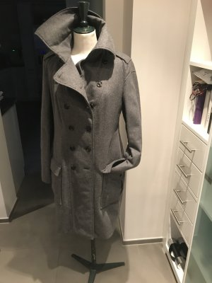 BOSS HUGO BOSS Cappotto stile pilota grigio Lana