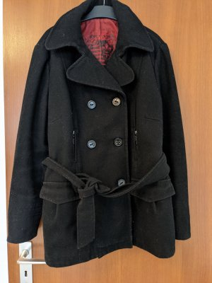 C&A RODEO White Series Plus Winter Coat black