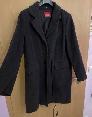 Zabaione Cappotto corto grigio scuro-antracite