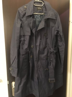 Woman by Tchibo Trench Coat dark blue