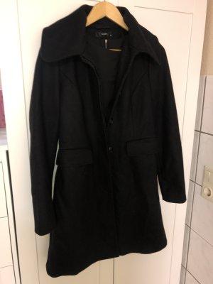 Hallhuber Płaszcz polarowy czarny