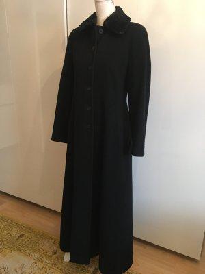 Laura Ashley Manteau long noir laine