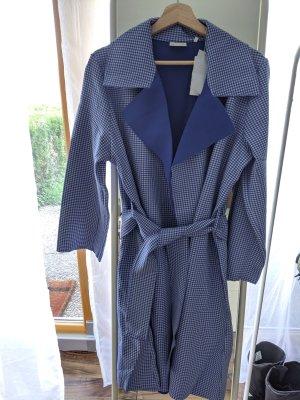 Rich & Royal Abrigo ancho azul neón