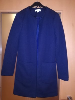 H&M Short Coat dark blue