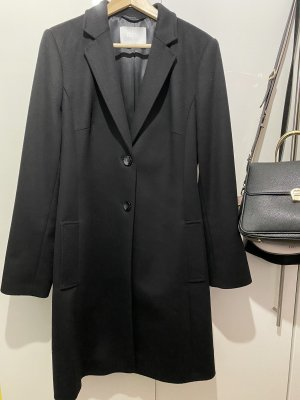 Hugo Boss Cappotto in lana nero