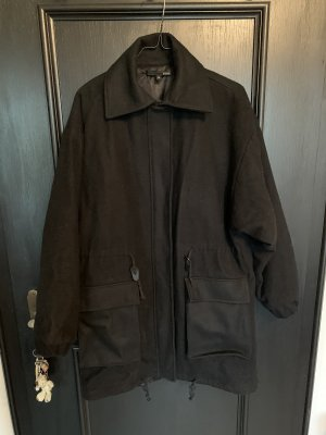 Suit Abrigo ancho negro