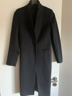 All Saints Wollen jas donkerblauw-zwart