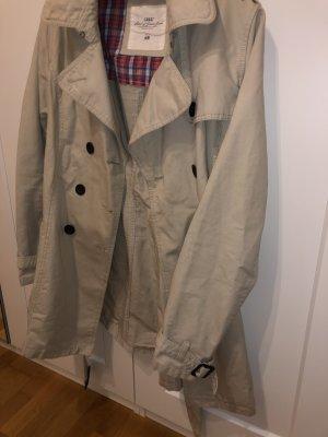 Mantel Anorak Parker beige Trenchcoat